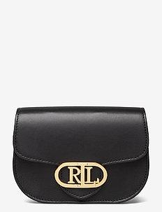 Aged Leather Medium Addie Belt Bag - sacs banane - black