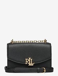Small Leather Madison Crossbody Bag - sacs à bandoulière - black