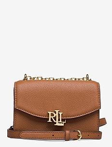 Small Leather Madison Crossbody Bag - sacs à bandoulière - lauren tan