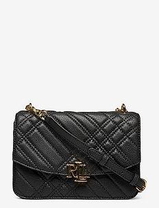 Plaid Quilted Madison Crossbody Bag - crossbody tassen - black