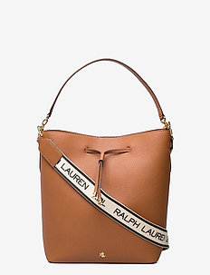 Large Debby Drawstring Bag - bucket-tasker - lauren tan
