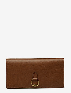 Slim Leather Wallet - LAUREN TAN