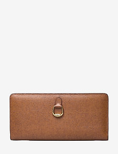 Compact Leather Wallet - LAUREN TAN