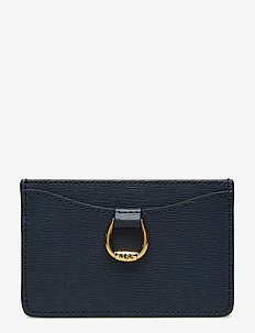 Leather Card Case - NAVY