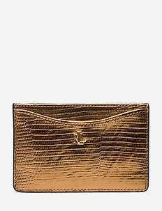 SLIM CARD CS-CARD CASE-MEDIUM - GOLD