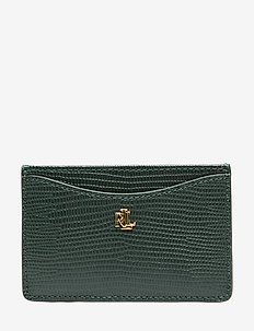 SLIM CARD CS-CARD CASE-MEDIUM - RACING GREEN