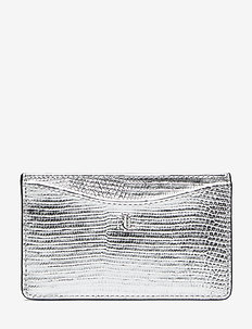 SLIM CARD CS-CARD CASE-MEDIUM - SILVER