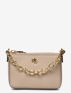 Leather Tiny Pouch - plånböcker - farro