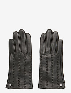 LEATHER-HAND CRAFTED POINTS - BLACK