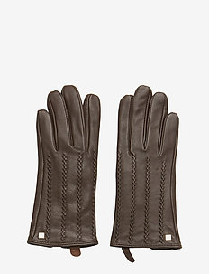 LEATHER-HAND CRAFTED POINTS - BROWN