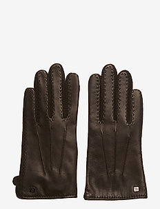 LEATHER-HYBRID TOUCH DRIVE - BLACK