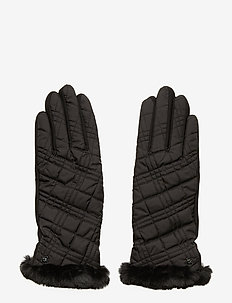 QUILTED GLOV-GLOVE - hansker - black