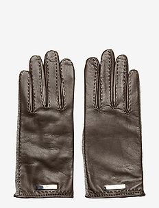 MIXED  GLOV-GLOVE - handschoenen - dark brown