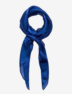 Scarlett Silk Twill Scarf - BLUE GLACIER