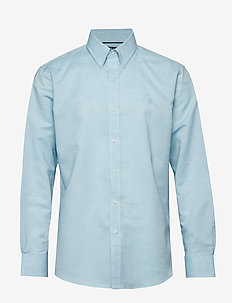 LINEN/COTTON-FITTED BD LOGO NK - 1745D BABY BLUE/W