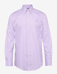 FT BD LO NK-DRESS SHIRT - 5550B ORCHID/WHIT