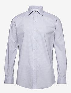 FT WRRN NK-DRESS SHIRT - 5546D GREY/WHITE