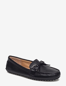 Briley Leather Loafer - BLACK