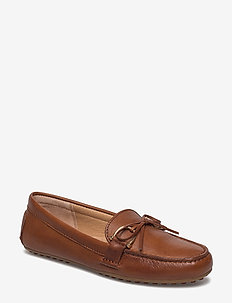 Briley Leather Loafer - DEEP SADDLE TAN