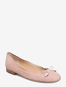 Suede Flat - PEARL PINK