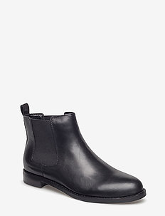 Haana Leather Boot - bottes chelsea - black