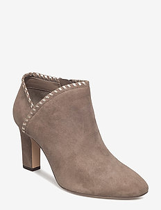 Bryna Suede Boot - LIGHT TAUPE/PLATI