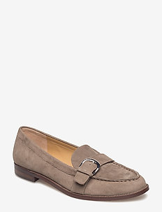 Bethy Suede Loafer - LIGHT TAUPE