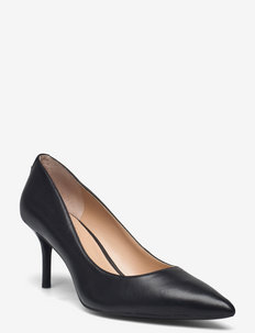 Lanette Leather Pump - BLACK
