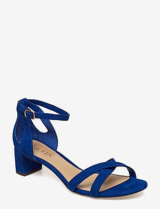 Folly Suede Sandal - COSMIC BLUE