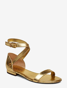 Davison Leather Sandal - RL GOLD
