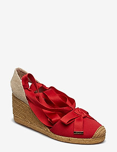 Hollie Espadrille - RL2000 RED