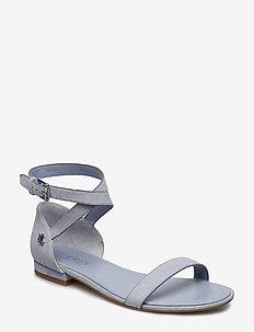 Davison Suede Sandal - BLUE MIST