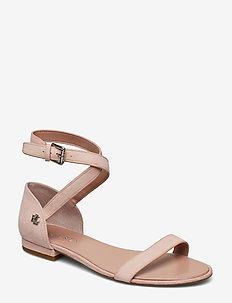 Davison Suede Sandal - PEARL PINK