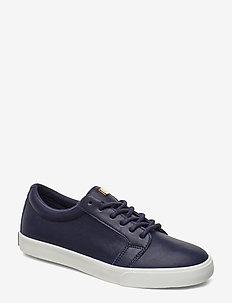 Reaba Leather Sneaker - LAUREN NAVY