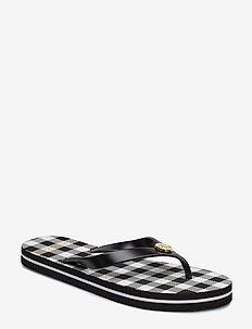 Elissa II Sandal - BLACK/WHITE