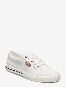 Jaycee Canvas Sneaker - BRIGHT WHITE