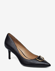 London Leather Pump - BLACK