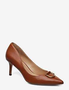 London Leather Pump - DEEP SADDLE TAN