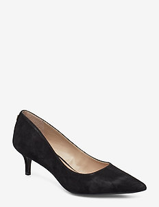 Adrienne Suede Pump - BLACK