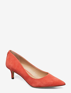 Adrienne Suede Pump - SUNSET