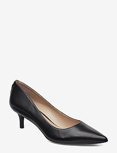 Adrienne Leather Pump - BLACK