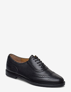 Marlina Tailored Oxford - BLACK