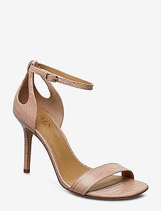 Gretchin Leather Sandal - BALLET SLIPPER
