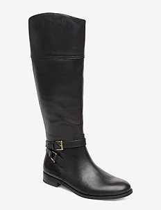 Bosworth Leather Boot - BLACK