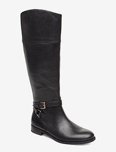 Bosworth Leather Boot - BLACK