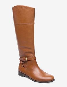 Bosworth Leather Boot - DEEP SADDLE TAN