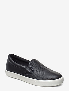Racquel Slip-On Sneaker - BLACK