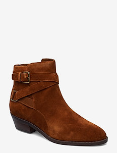 Egerton Suede Bootie - WHISKEY