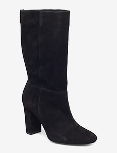 Artizan Suede Boot - BLACK