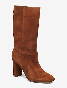 Artizan Suede Boot - WHISKEY